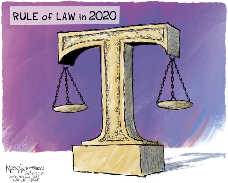Nick Anderson Comic Strip for February 22, 2020
