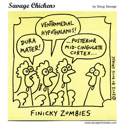 Finicky Zombies 