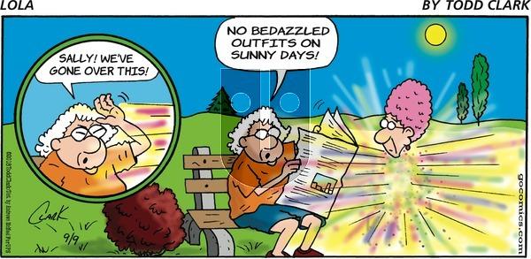 Lola on Sunday September 9, 2018 Comic Strip