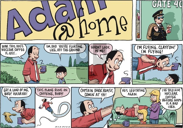 Adam@Home on Sunday March 25, 2018 Comic Strip