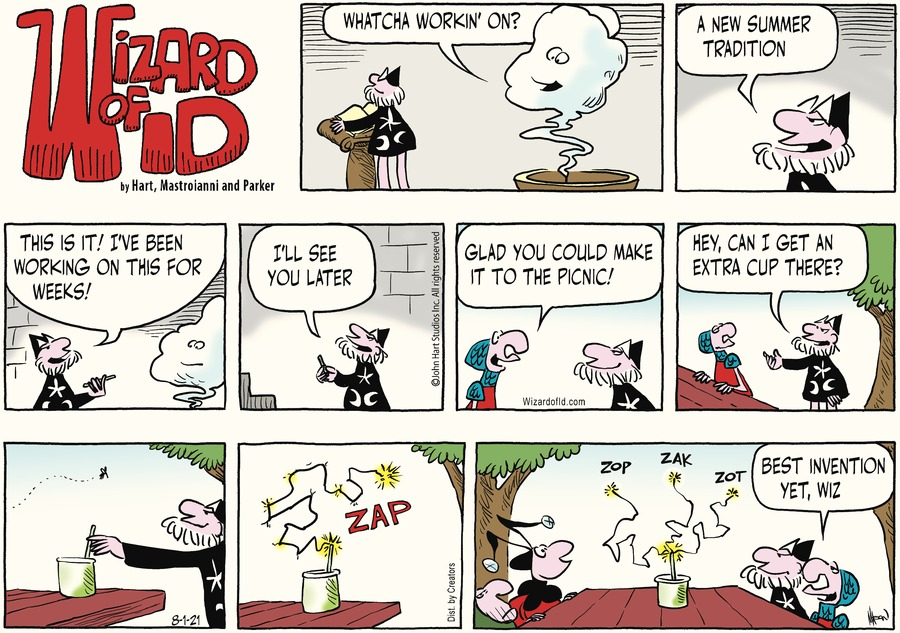 Wizard of Id Comic Strip for August 01, 2021