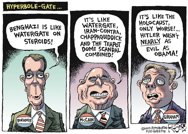 Rob Rogers Comic Strip for May 12, 2013