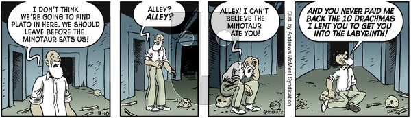 Alley Oop on Wednesday July 10, 2019 Comic Strip