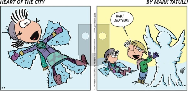 Heart of the City on Sunday February 3, 2019 Comic Strip