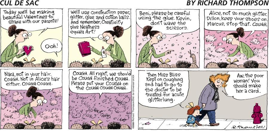 Cul de Sac Comic Strip for February 10, 2013