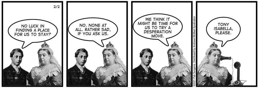 New Adventures of Queen Victoria Comic Strip for February 02, 2021