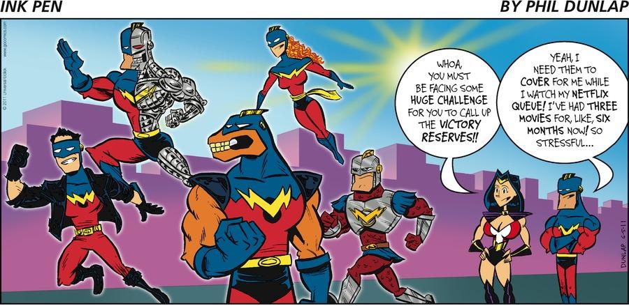 Ink Pen Comic Strip for June 05, 2011