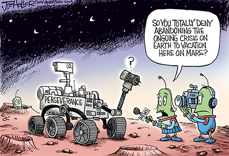 Joe Heller Comic Strip for February 19, 2021
