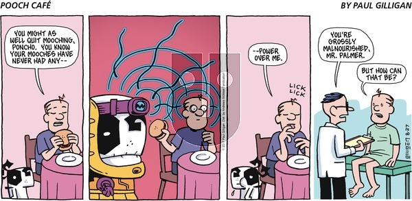 Pooch Cafe on Sunday August 27, 2017 Comic Strip