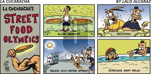 La Cucaracha - Sunday March 29, 2020 Comic Strip