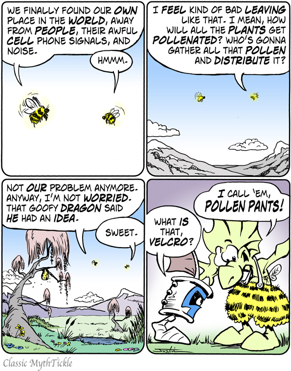 MythTickle Comic Strip for April 22, 2019