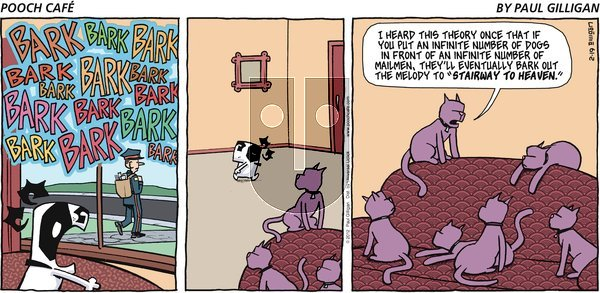 Pooch Cafe on Sunday February 19, 2012 Comic Strip