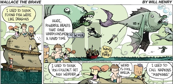 Wallace the Brave - Sunday August 30, 2020 Comic Strip