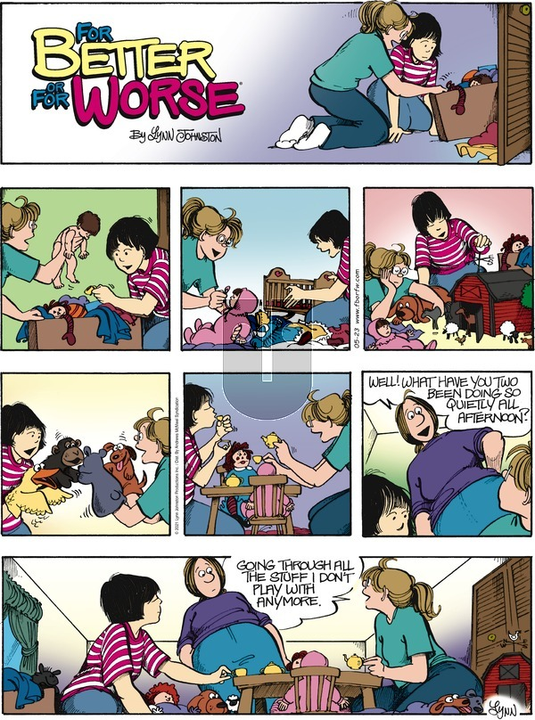 For Better or For Worse - Sunday May 23, 2021 Comic Strip