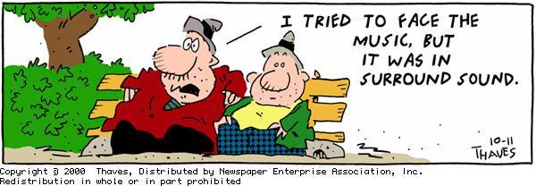 Frank and Ernest Comic Strip for October 11, 2000