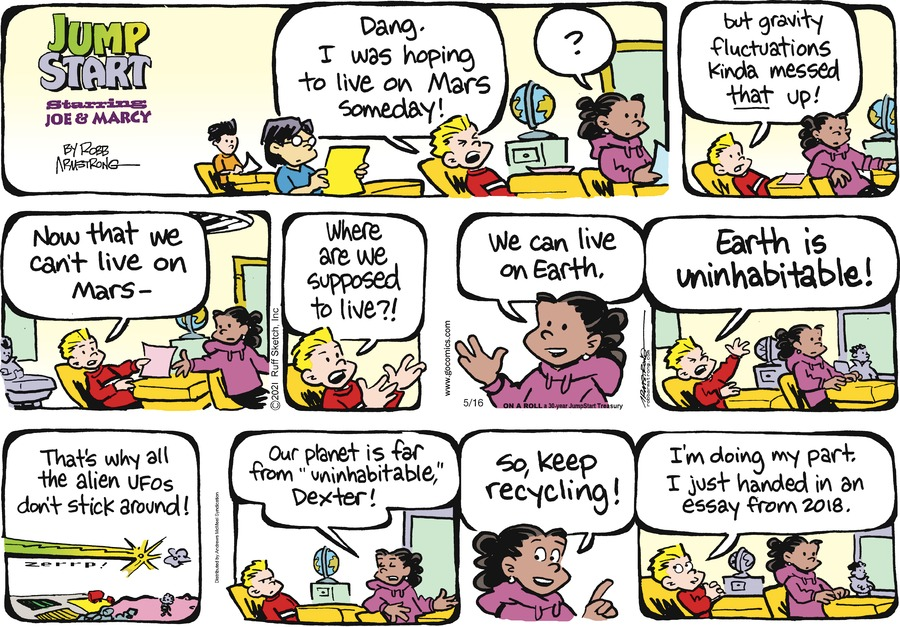 JumpStart Comic Strip for May 16, 2021