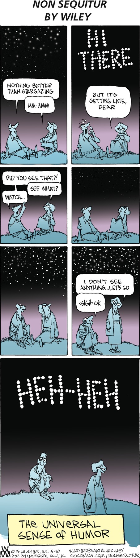 Non Sequitur Comic Strip for May 10, 2015