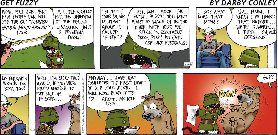 Get Fuzzy Comic Strip for December 02, 2018