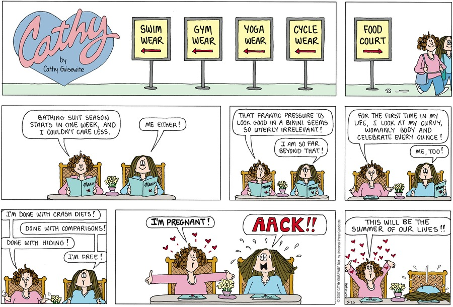Cathy for May 20, 2007 Comic Strip