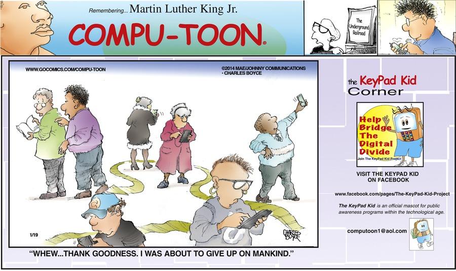 Compu-toon for Jan 19, 2014 Comic Strip