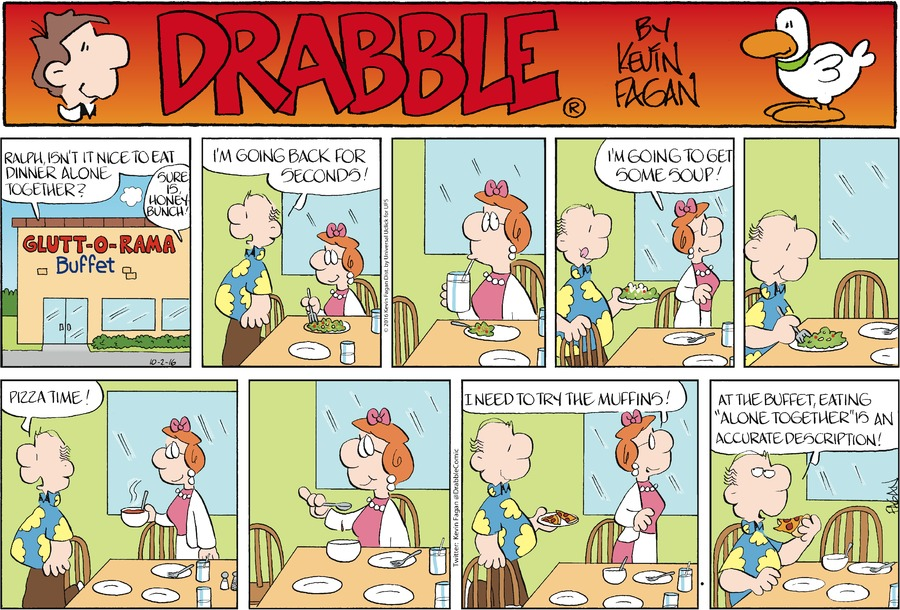 Drabble for Oct 2, 2016 Comic Strip