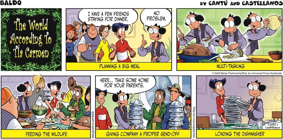 Baldo for May 31, 2009 Comic Strip