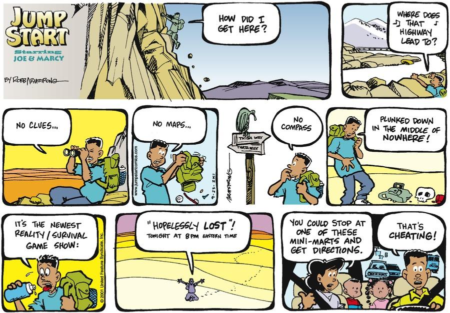 JumpStart Comic Strip for September 23, 2001