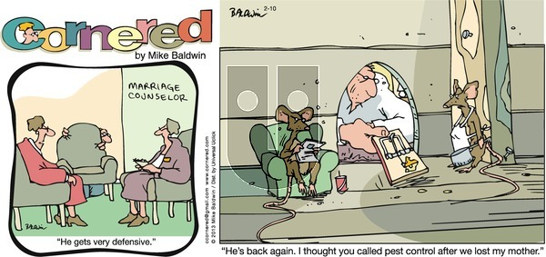 Cornered on Sunday February 10, 2013 Comic Strip