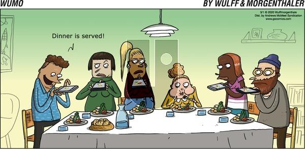 WuMo - Sunday March 1, 2020 Comic Strip
