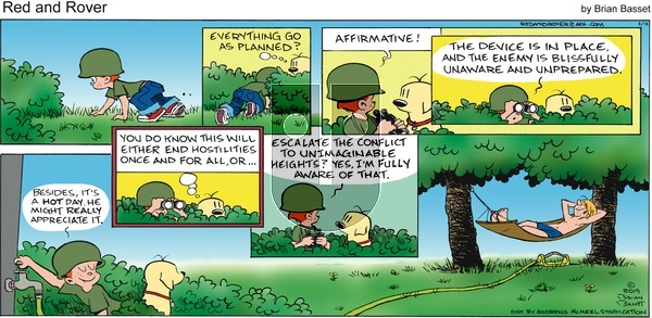 Red and Rover - Sunday August 18, 2019 Comic Strip