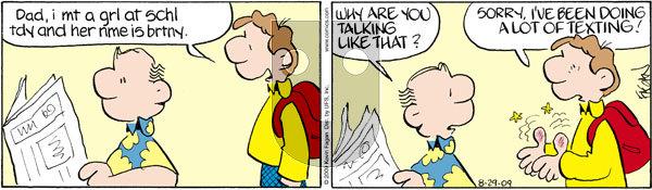 Drabble on Saturday August 29, 2009 Comic Strip