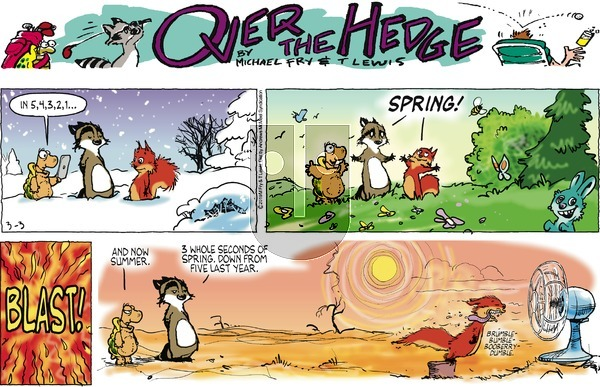 Over the Hedge on Sunday March 3, 2019 Comic Strip
