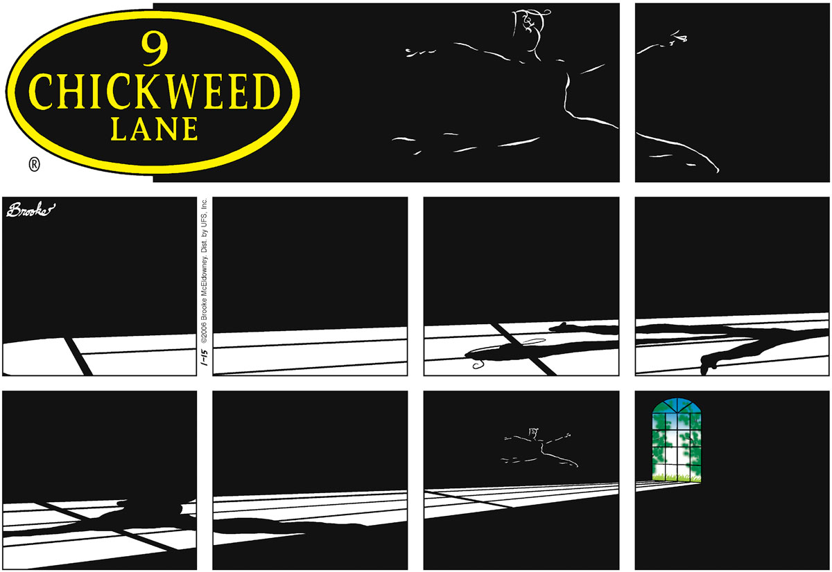 9 Chickweed Lane Comic Strip for January 15, 2006