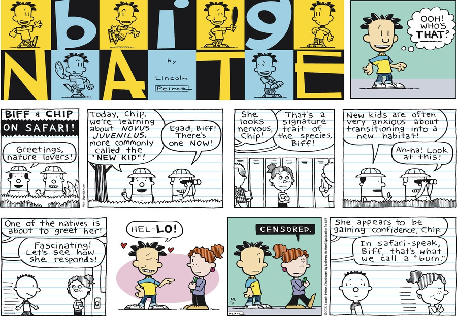 Big Nate by Lincoln Peirce on Sun, 03 Oct 2021