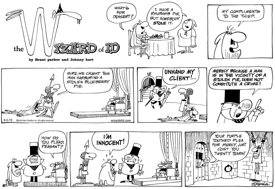Wizard of Id Classics Comic Strip for August 02, 2020