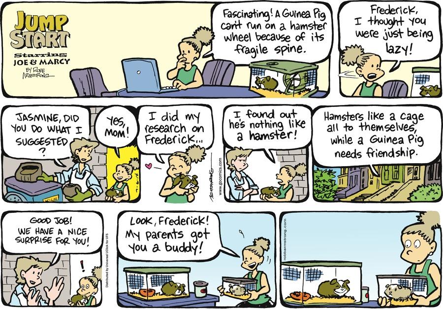 JumpStart for Jul 6, 2014 Comic Strip