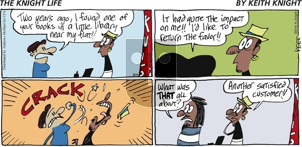 The Knight Life on Sunday August 4, 2019 Comic Strip