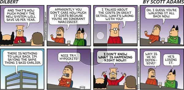 Dilbert on Sunday September 17, 2017 Comic Strip