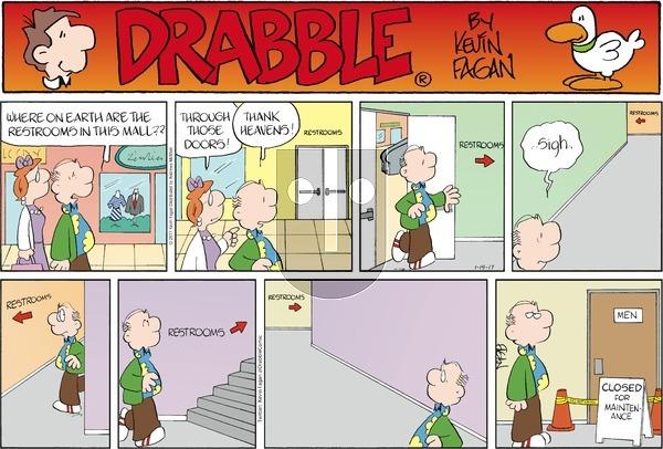 Drabble on Sunday January 15, 2017 Comic Strip