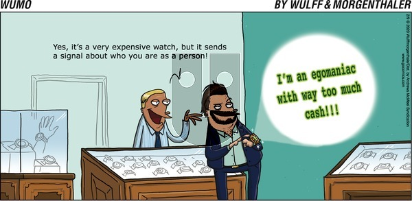 WuMo on Sunday February 9, 2020 Comic Strip