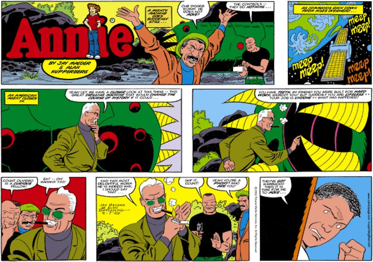Annie for Jan 6, 2013 Comic Strip