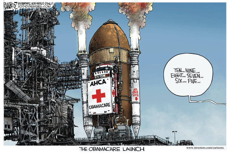 Michael Ramirez for Sep 29, 2013 Comic Strip