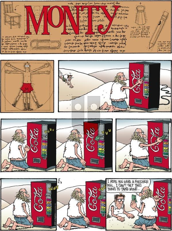 Monty on Sunday May 23, 2021 Comic Strip