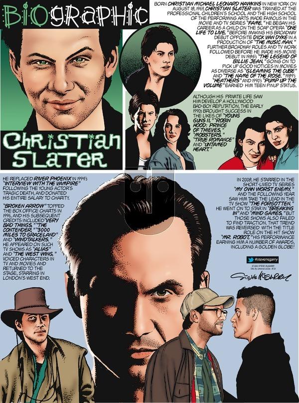 Biographic on Sunday August 21, 2016 Comic Strip
