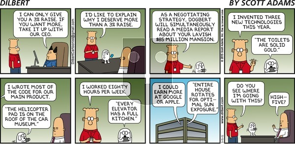 Dilbert on Sunday March 15, 2015 Comic Strip