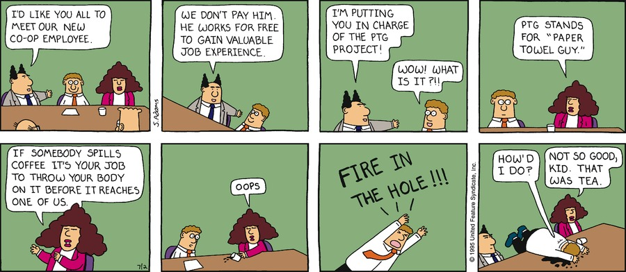 Dilbert Classics by Scott Adams for June 02, 2019