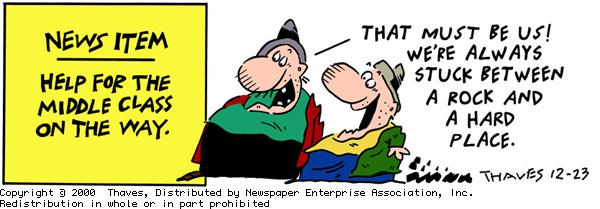 Frank and Ernest Comic Strip for December 23, 2000