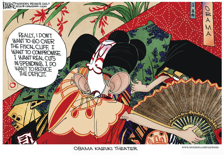 Michael Ramirez for Dec 29, 2012 Comic Strip