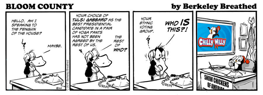 Bloom County 2019 Comic Strip for December 02, 2019