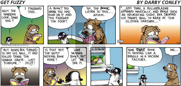 Get Fuzzy on Sunday June 28, 2009 Comic Strip